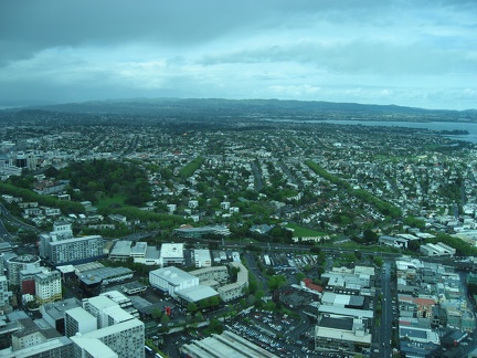 Ponsonby view from the Sky Tower