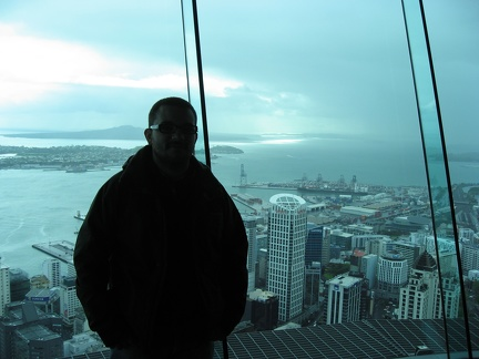 Me on the Sky Tower